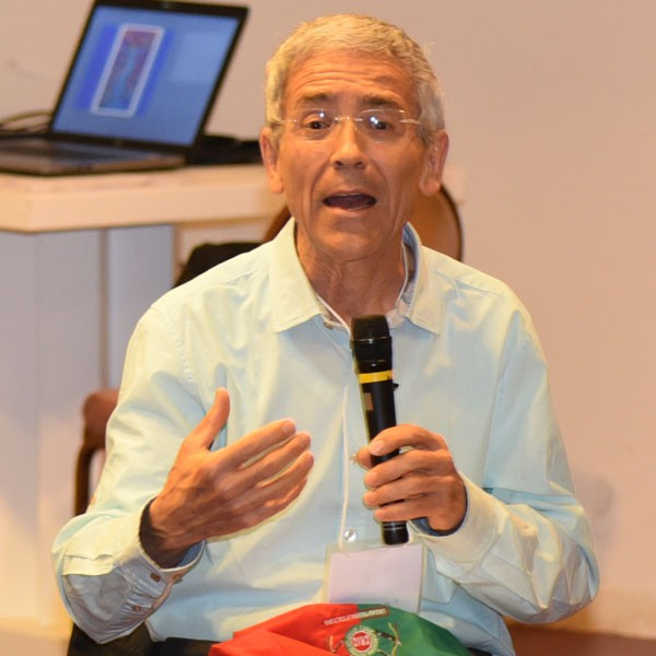 At Nonviolence and Just Peace Conference, Jesuit Father Francisco de Roux describes his 14 years of peacebuilding work in a war zone in Colombia. (G. Lee/Rome)