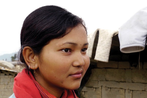 Maryknoll scholarship to student in Nepal