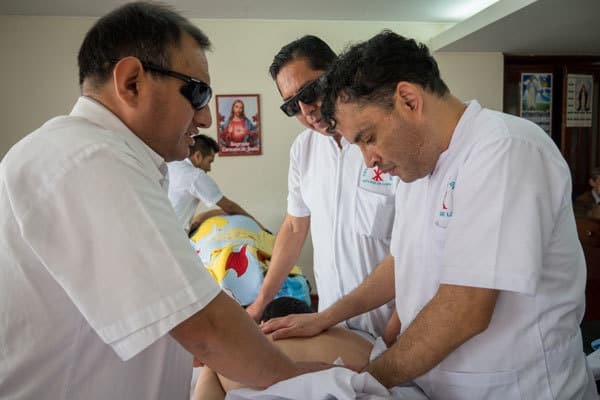 Blind in Peru, providing jobs, MAryknoll Fathers and Brothers