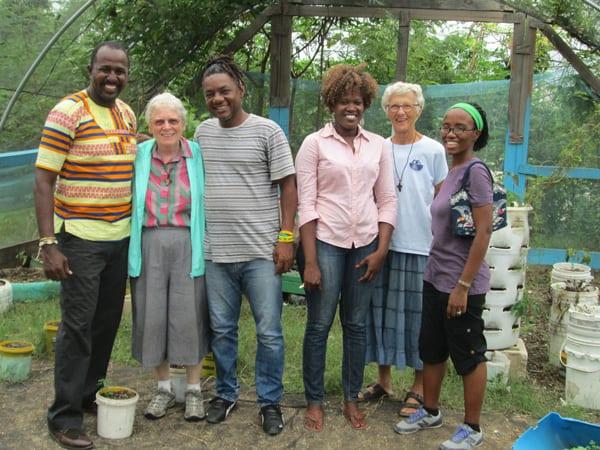 Gardens in Haiti, Maryknoll sisters