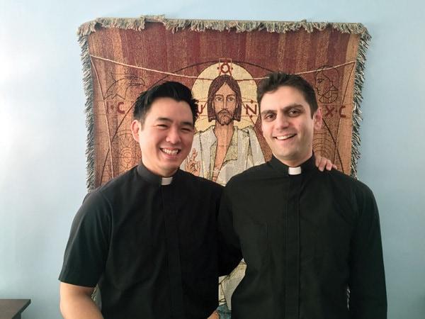 Seminarians from Maryknoll in China.