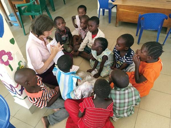 Mwanza, Tanzania school, Maryknoll Lay Missioner