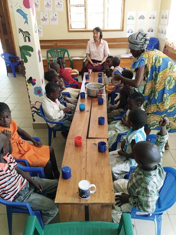 Mwanza, Tanzania Africa school children