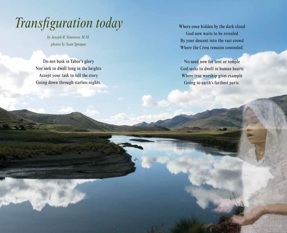 Photo Meditation Maryknoll Magazine July-Agust-