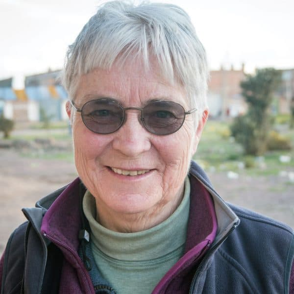 Maryknoll Sister, who has served as a missioner in Peru since 1971, helps indigenous people in Peru secure their rights to a clean environment through DHUMA.