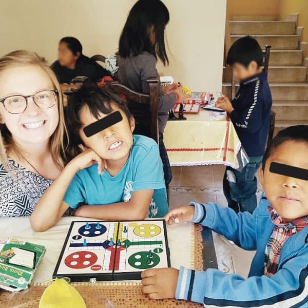 Maryknoll Volunteer Molly Minnerath accompanies children in various ministries in Bolivia.