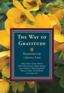 cover of The Way of Gratitude anthology