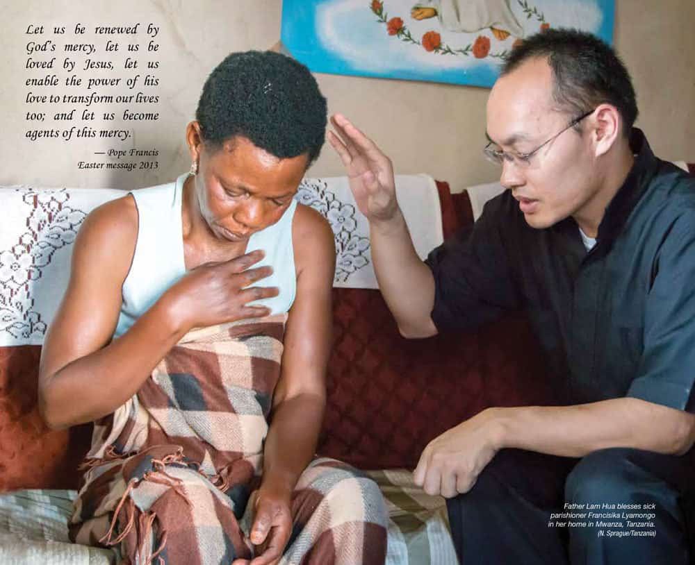 Maryknoll Magazine Center Spread March / April 2016