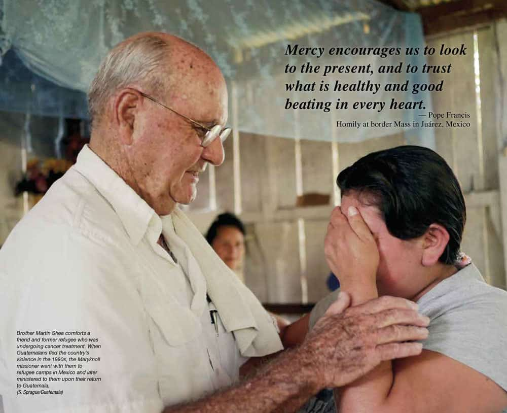 Maryknoll Magazine Center Spread May / June 2016