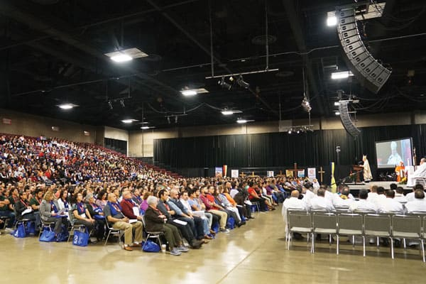 About 1,300 Hispanic ministry leaders from 15 dioceses in California, Nevada and Hawaii gathered for a regional encuentro in Visalia, Calif., April 27–29.