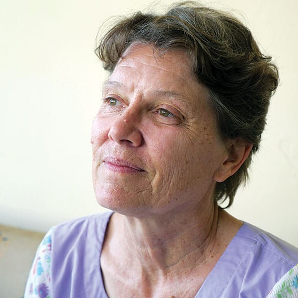 Maryknoll Lay Missioner Susan Nagele, a doctor, has served as a medical missionary in East Africa for more than three decades.