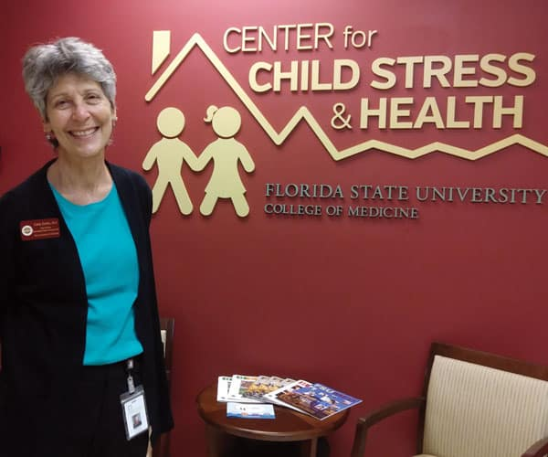 Maryknoll Sister Catherine DeVito says she is grateful to work at the Child Stress Center where she helps children cope. (G. Romeri/U.S.)