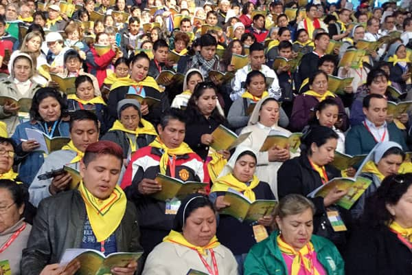 More than 3,500 participants gathered to share their faith at V CAM in Bolivialast July.