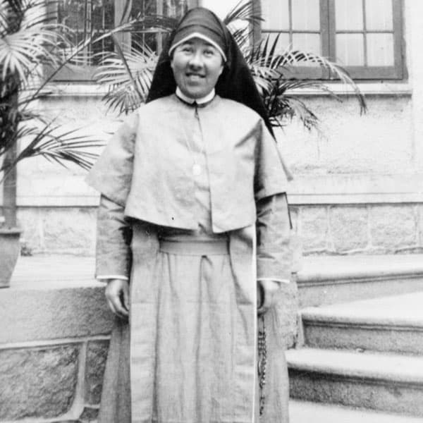 Sister Mary Francis Davis, the first biracial Maryknoll sister, a multicultural community, served in China. (Maryknoll Mission Archives)