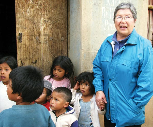As a member of the Maryknoll Sisters, a multicultural community, Sister Daisy Vargas from Bolivia now serves in Peru. (Courtesy of Maryknoll Sisters)