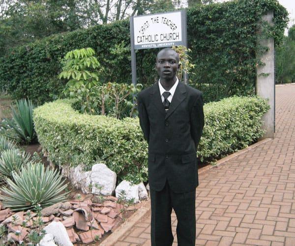 As a student at Kenyatta University, Siyumbu was attracted to Maryknoll.