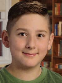 Seth Gibbons a seventh-grader at St. Joseph Religious Education in New Paltz, N.Y., wins second place among student essay winners 2018 Division I.