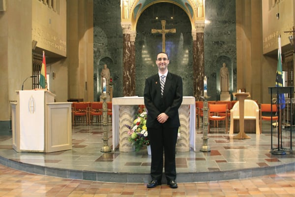 "Sent Forth to Serve in Mission: ""I feel a sense of deep peace and serenity knowing my vocation as a Maryknoll brother has been finally realized through the grace of God,"" says the 37-year-old native of Ontario, Canada, as he takes this final step in his formation process, following eight years of study and service."