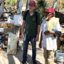 Building Community with Homeless in  El Salvador