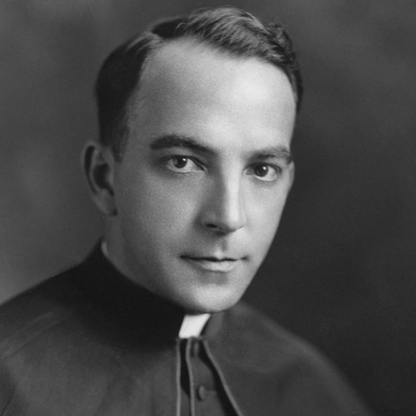A formal portrait of Francis X. Ford was taken for his appointment as Prefect Apostolic of Kaying, 1929. (Maryknoll Mission Archives)