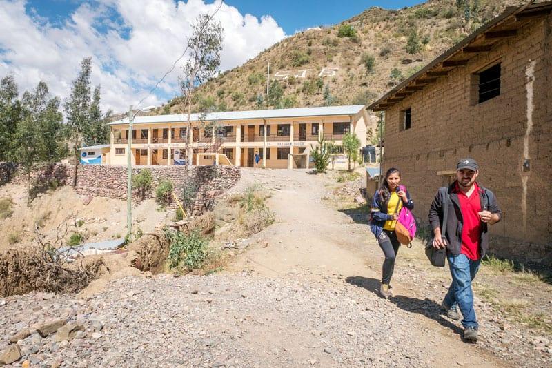 Juan Gomez at San Juan Bosco School, in Tacopaya. (Nile Sprague/Bolivia)