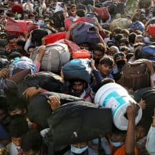 Stranded migrants, lack of food: in Indian lockdown, poor suffer