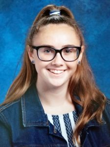 Caroline Berardo, a 12-grader at St. Christopher Religious Education in Parsippany, N.J., wins third place in Division II of Maryknoll Student Essay Contest 2019.